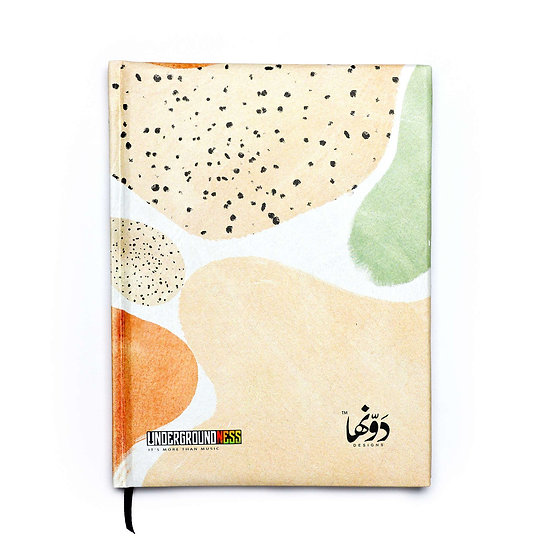 Abstract Notebook+Sticker sheets