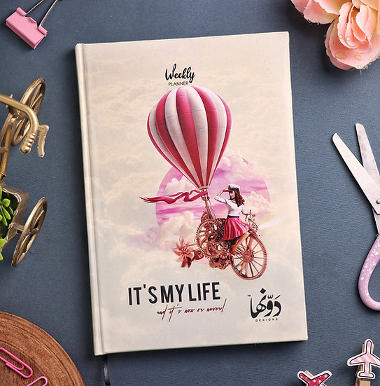 It's my life Planner + Coloring book + Poster
