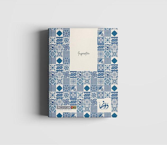 Seamless Asian Notebook+Sticker sheets