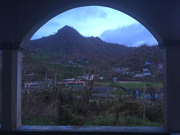 """""""Vista desde mi Granja en Puerto Rico"""" Crédito de Imagen: Tara Rodríguez Besosa"""