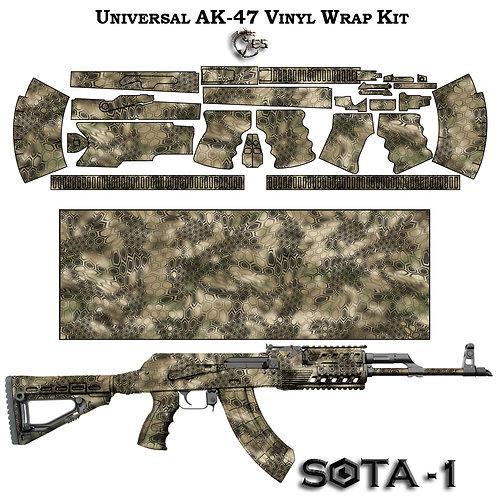 Камуфляжная пленка для оружия АК серии SOTA-A