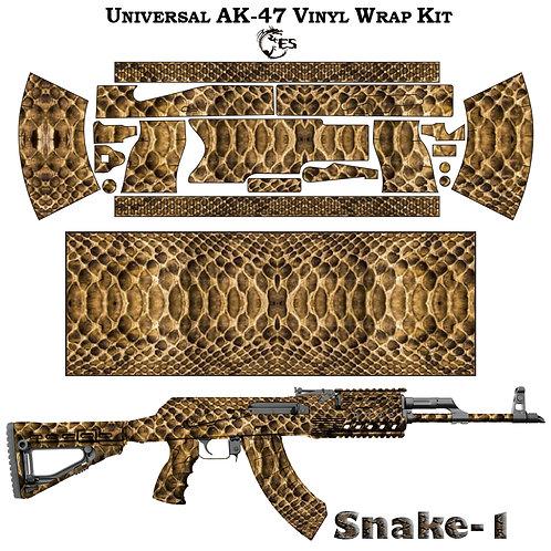 Камуфляжная пленка для оружия АК серии Snake