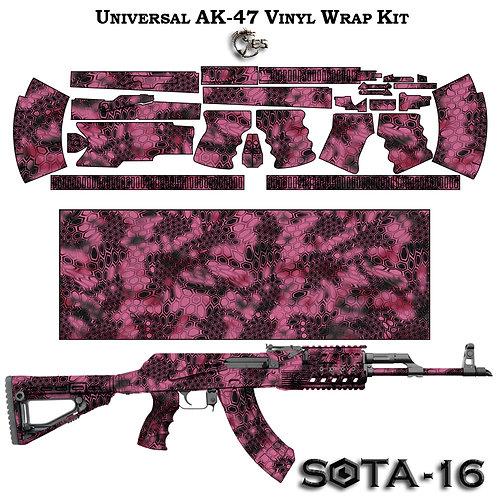 Камуфляжная пленка для оружия АК серии SOTA-B