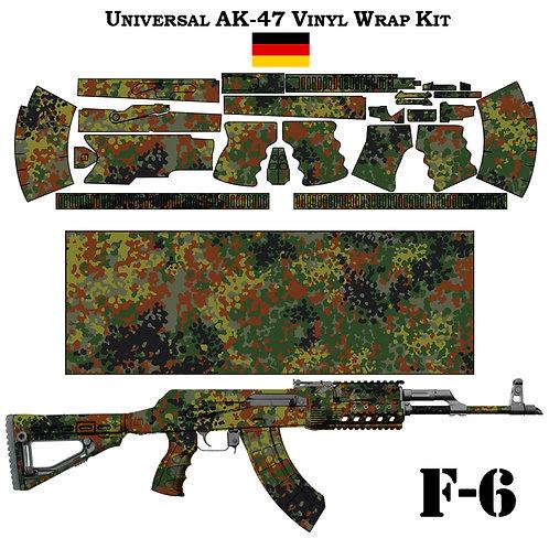 Камуфляжная пленка для оружия АК серии FLECKTARN