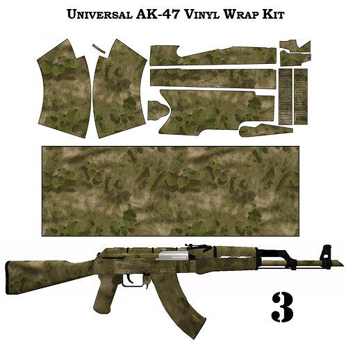 Камуфляжная пленка для оружия АК серии ТАКТИЧЕСКИЙ-1