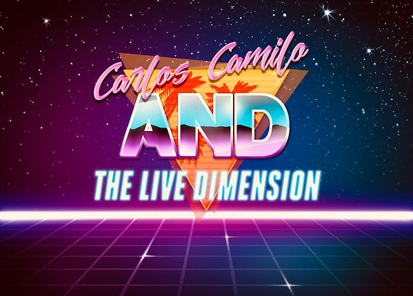Carlos Camilo and The Live Dimension Logo