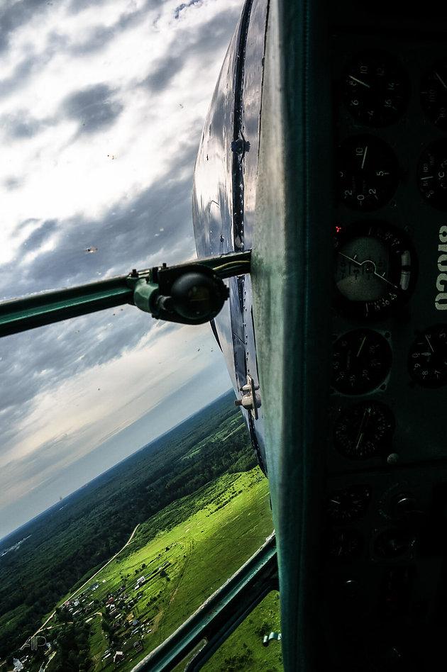 Пилотаж на Як 18Т