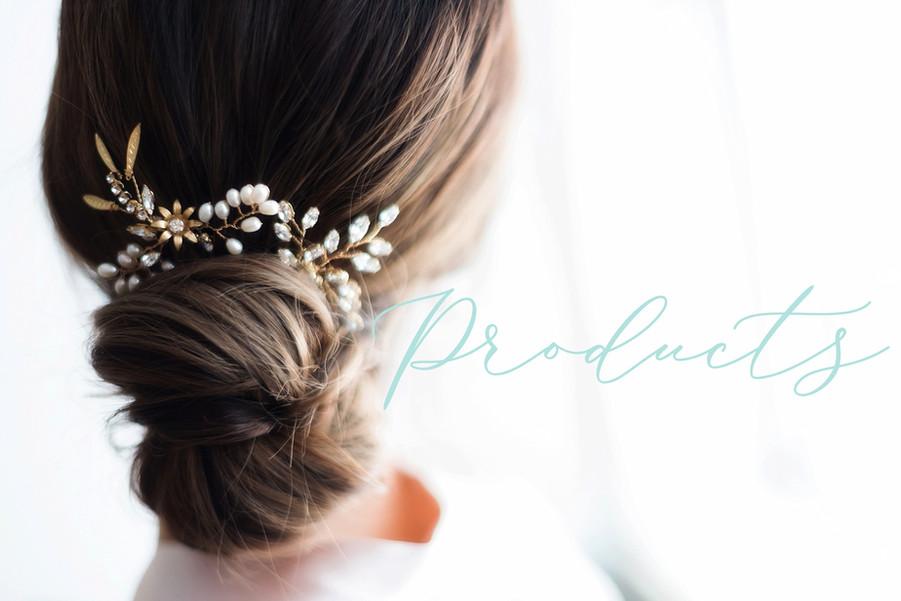 Headpiece designs for Joanna Bisley Designs
