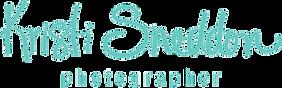 Kristi Sneddon Photographer Logo, Calgary Alberta