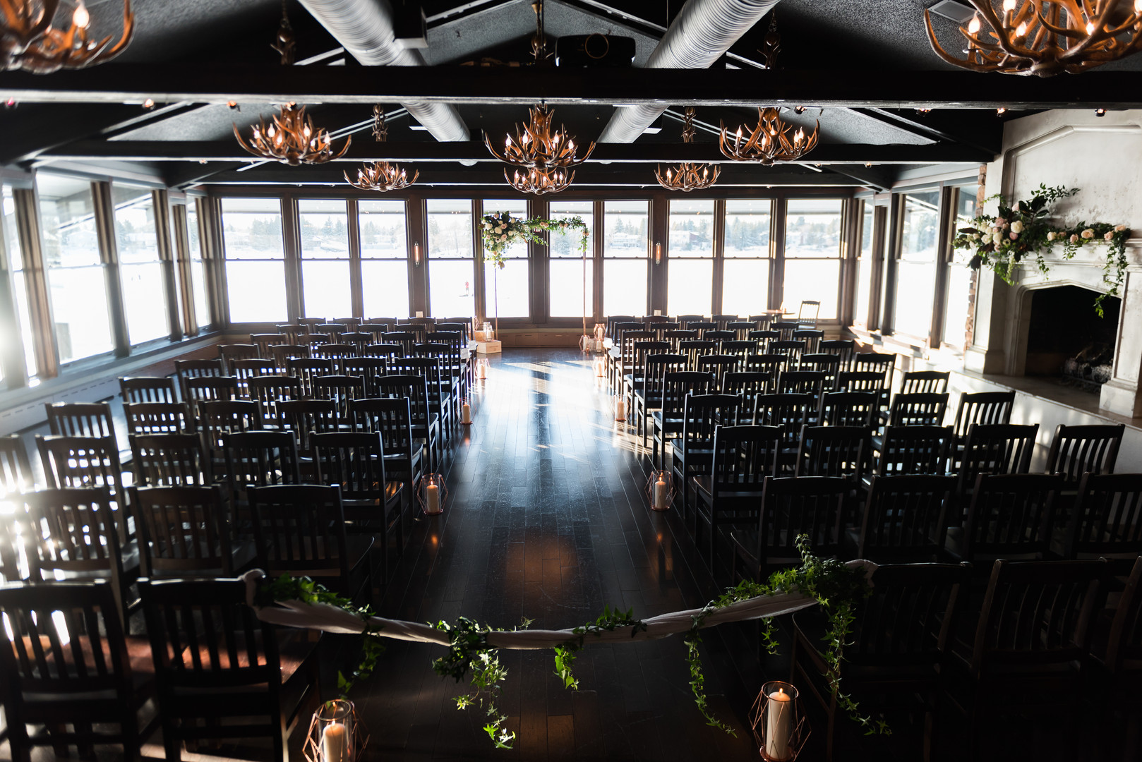 Lake House wedding for Mountain Bride Events