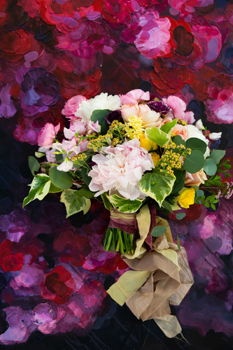 Bridal Bouquet for Creative Edge Flowers