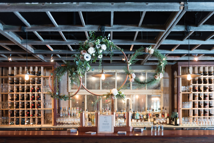 The Lake House, decor by Flower Artistry and Mountain Bride