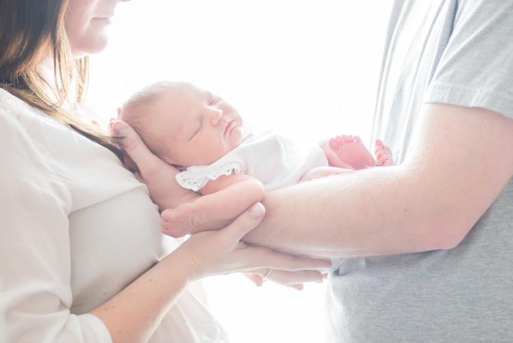 New Born snuggles