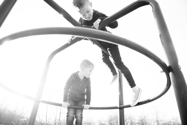 Love capturing kids on the move!
