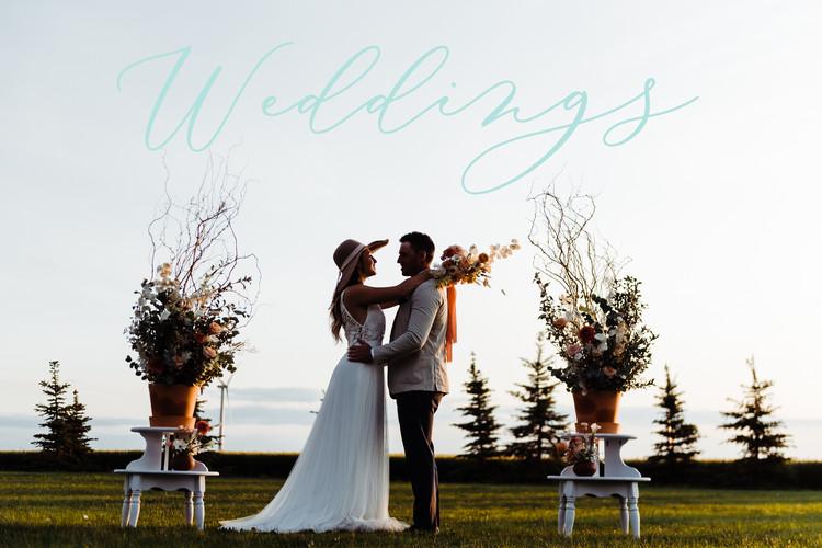 A Just Peachy Wedding Ceremony
