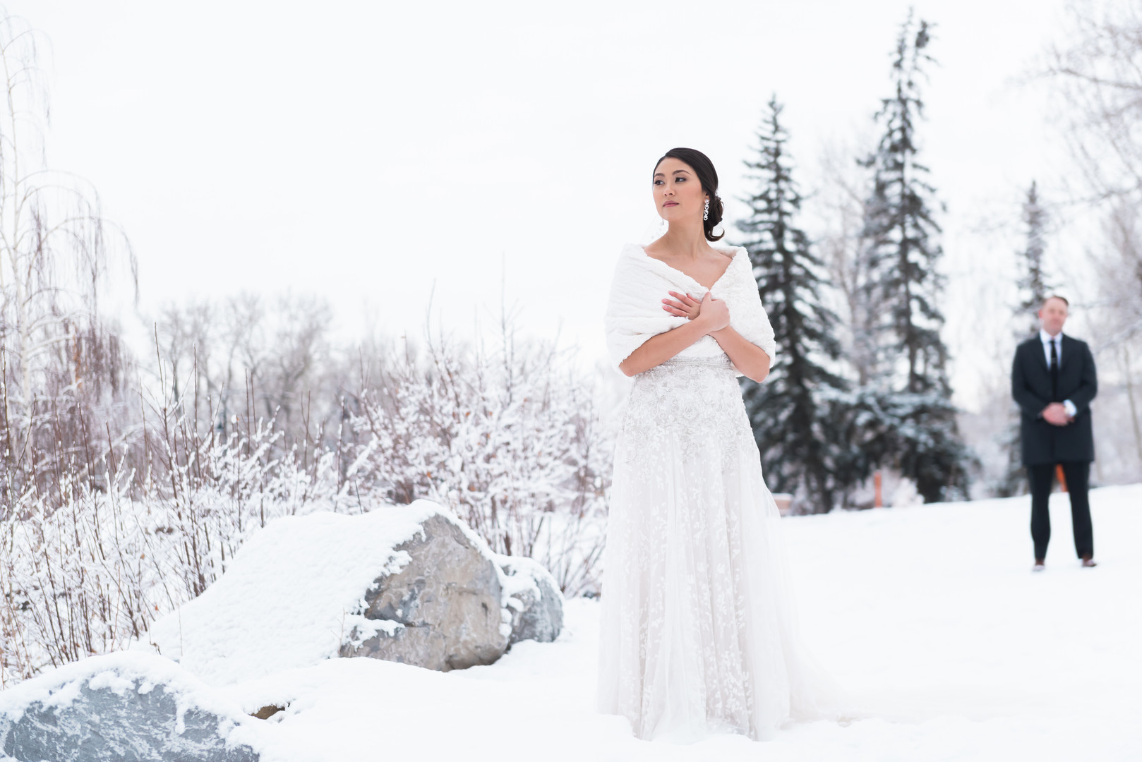Winter weddings are stunning!