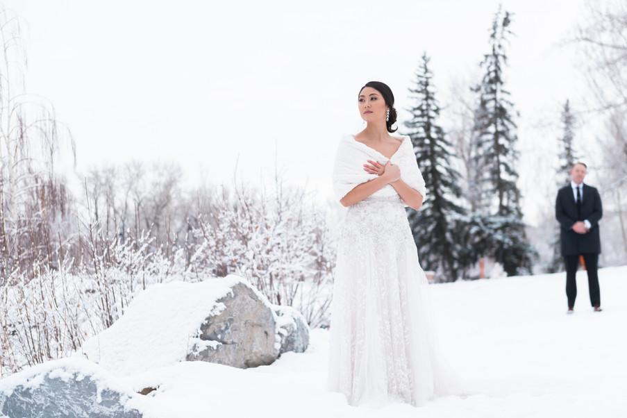 Winter weddings are stunning!