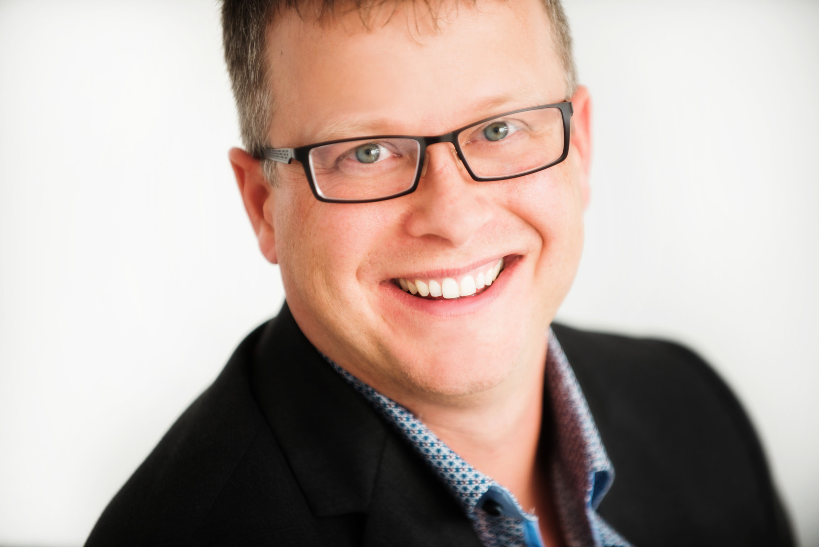 Business head shot in Calgary, AB