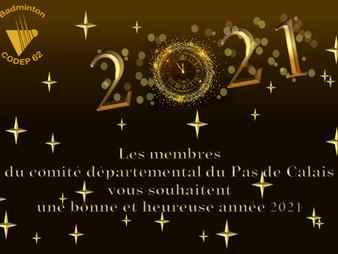 Meilleurs vœux 2021 !!!