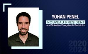 Yohan PENEL, nouveau président de la FFBaD