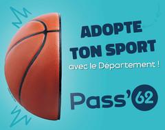 15 euros offerts sur la licence sportive pour les collégiens de 6ème et 5ème avec le Pass'62 !