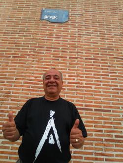 Tony Currenti in AC/DC's Street