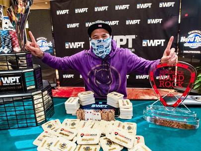 Ilyas Muradi dio la sorpresa en el Evento Principal del WPT Lucky Hearts Poker Open.