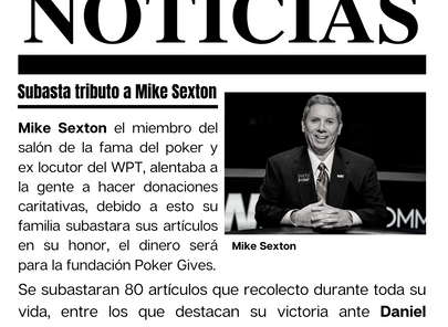 Tributo a Mike Sexton