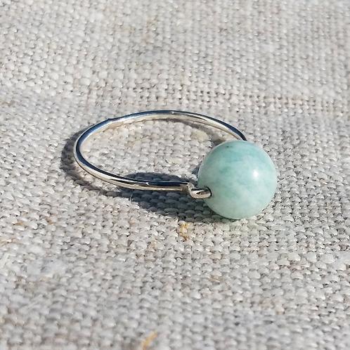 AMAZONIT Ring