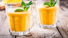 Cooler Drink mit schlanker Wirkung