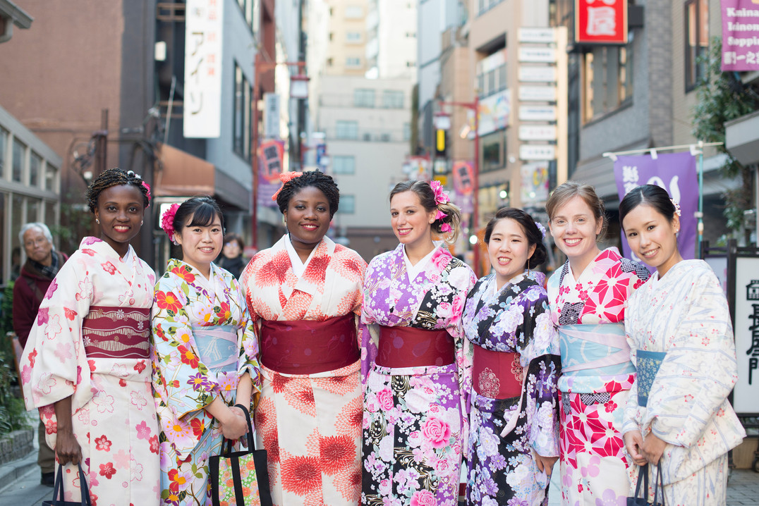 Japan with HBS students