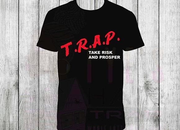 Black & Red T.R.A.P Shirt