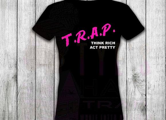 Black & Pink T.R.A.P Shirt
