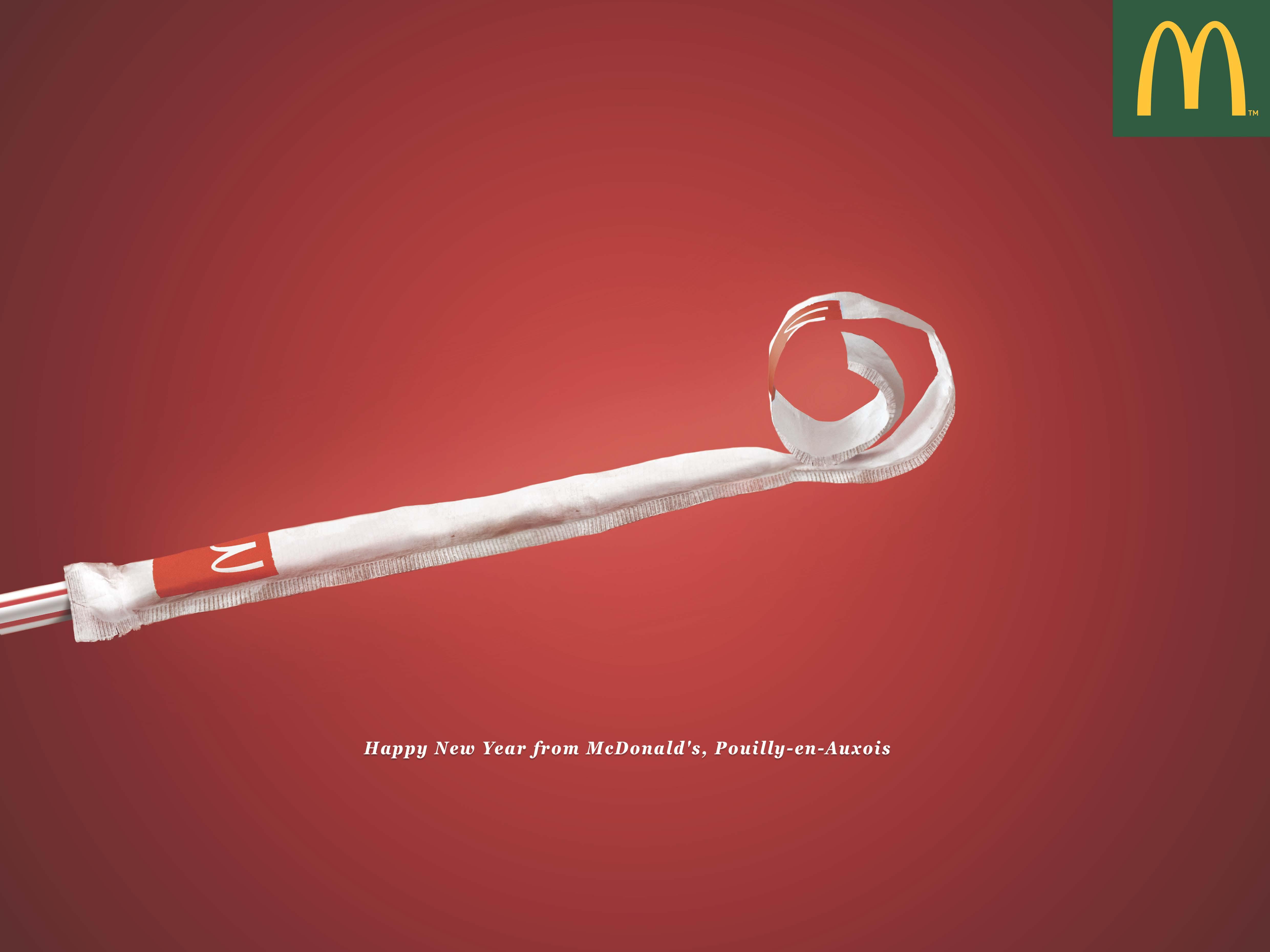 McDonald's straw