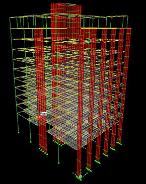 Engineering of 10 storey dormitory