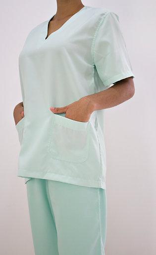 Conjunto Cirúrgico Unissex Gola V