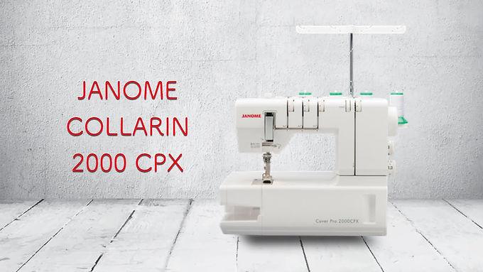 Nueva Collarín JANOME 2000 CPX