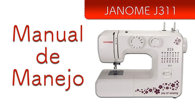 Janome J311 Manual de Manejo