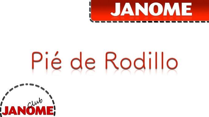 Pie de Rodillo