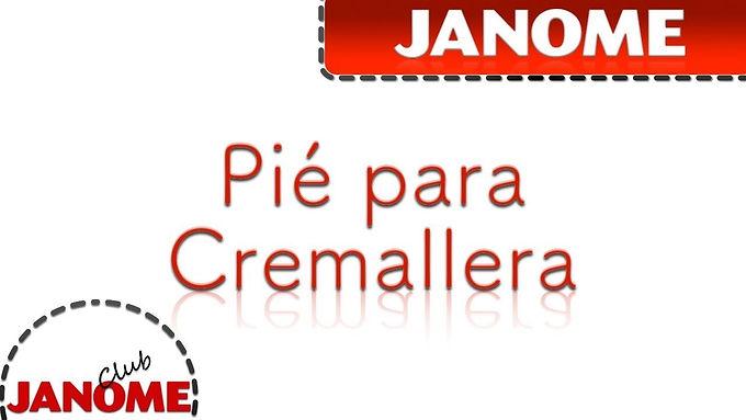 Pie de Cremallera