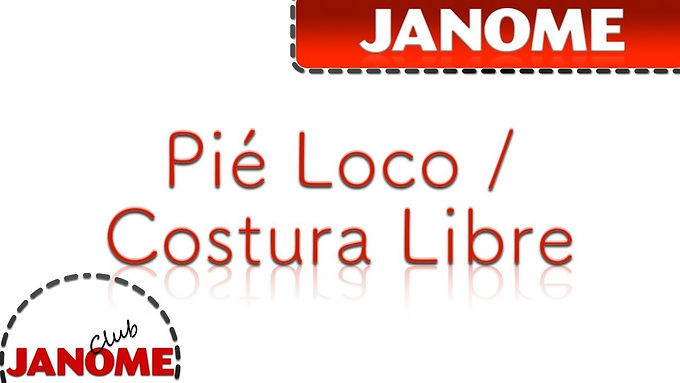 "Pie ""loco"" Costura Libre"