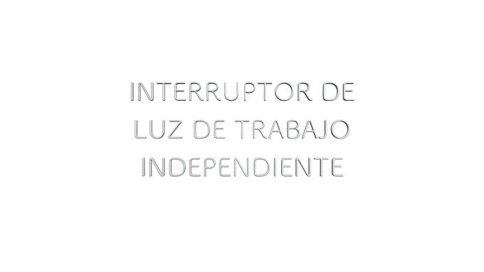 LR1122DX INTERRUPTOR DE LUZ