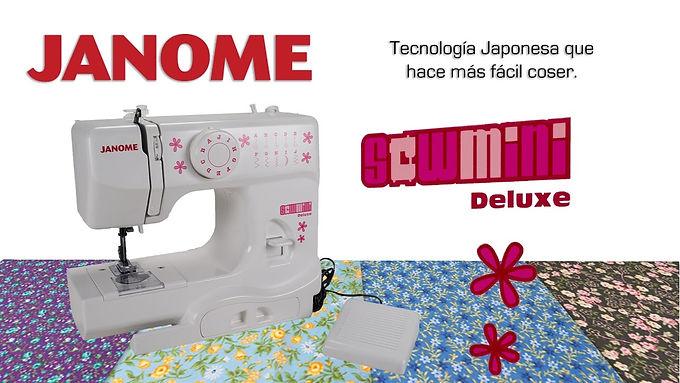 Janome Sew Mini Deluxe - Brazo libre / Tubular