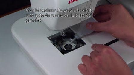 Lubricación Preventiva Bordadora Janome MC200E