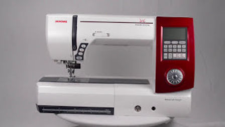Janome 7700QDC