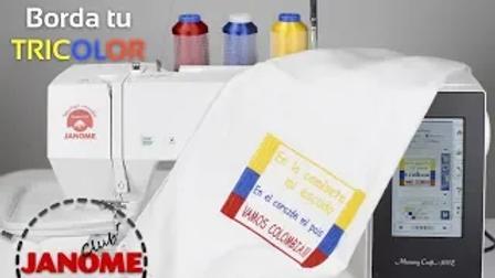 Bordado Tricolor