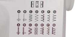 12 Patrones de Puntadas