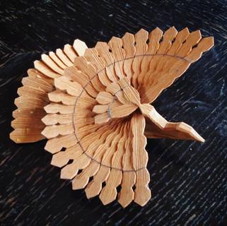 Štípaná holubička