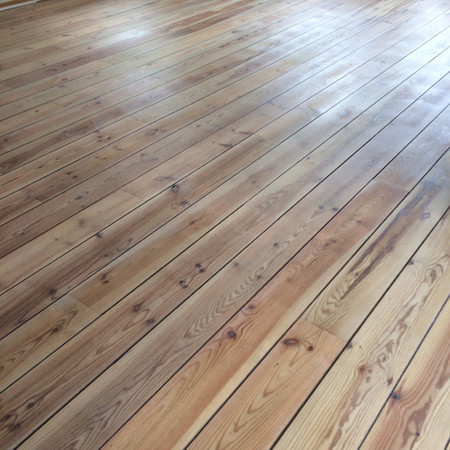 Grenen vloer, 18,95 per m2 ex btw