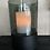 Thumbnail: Windlicht smoked glas/zwart